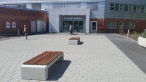 Norwegia, Centrum Handlowe Rykkinn – ławy
