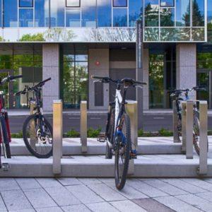 Betonowe parkingi rowerowe