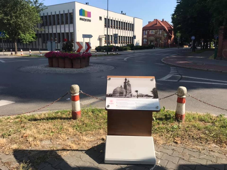 Racibórz, miasto – tablica informacyjna