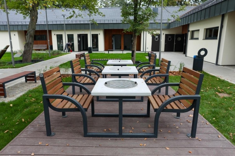 Szczecin, kąpielisko Dąbie – blat szachowy